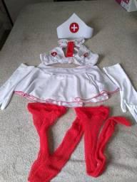 Roupa Completa Enfermeira P