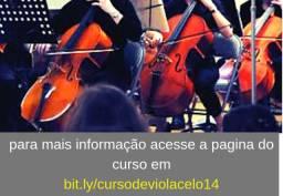 Violoncelo - curso de violoncelo sem mensalidade em porto velho