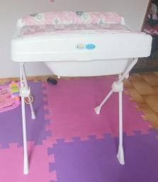 Banheira bebê Burigoto rosa