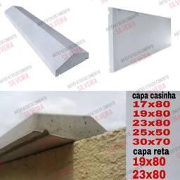 Capa de muro/ soleira/ pingadeira/ capa de muro reta e casinha
