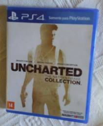 Uncharted The Nathan Drake Collection(Contém Uncharted 1,2 e 3) R$ = 85 Lacrado