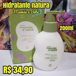 Hidratante natura mamãe e bebê 200ml