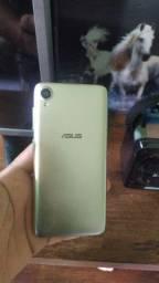 Vendo ou troco Asus zefone Levi L1 dourado 32gb