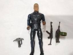 Boneco Coleção Rambo, General Warhawk Usado
