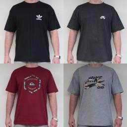 Camisetas Tam: M, G, GG, XG, XG2 e XG3