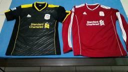 6 Camisas paralelas de futebol