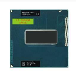 Processador intel, core i7-3630QM i7 3630qm sr0ux 2.4 ghz