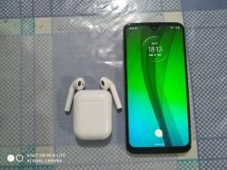 Moto G7 Novo com Phones Bluetooth