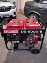 Gerador diesel kawashima