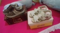 Vendo Sapato e Sandálias  N°21 NOVOS