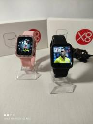2021 Novo Iwo 13 Max original X8 Smartwatch Bluetooth Chamada