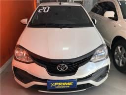 Título do anúncio: Toyota Etios 2020 1.5 x plus sedan 16v flex 4p manual