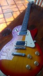 Título do anúncio: Guitarra Epiphone Lês Paul LP 100 Heritage Cherryburst Hs