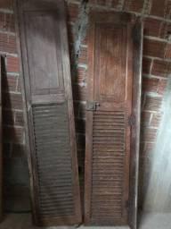 Porta e janelas vintage estilo veneziana