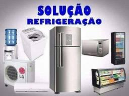 Conserta-se geladeira e máquina de lavar