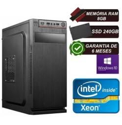 Computador Intel Xeon E5430 8gb Ssd 240 Gb Windows 10