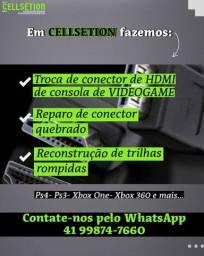 Título do anúncio: Conector HDMI -TROCA-