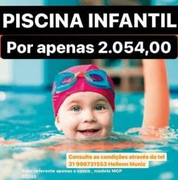 Hm Promoção Piscina Infantil 3,25mX1,65m