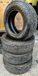265 65 17 - 4 unidades -pneu meia vida - montagem gratis