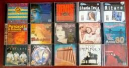 100 CD's Colecionáveis e Originais por R$130,00