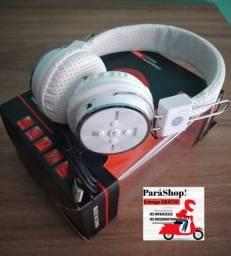 Fone De Ouvido Headphone Bluetooth Branco.