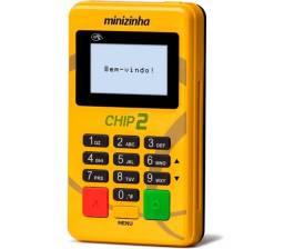 Máquina PagSeguro Chip 2 Prático Portátil