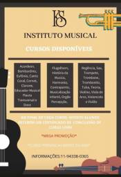 Aulas de Tuba, Trompete, Trombone