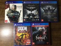 Jogos PS4 a venda