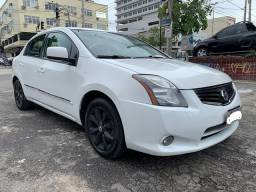 Nissan Sentra 2013 S Automatico + Ipva 2021 Pago + Bc de Couro