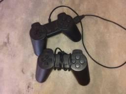Controles de vídeo game