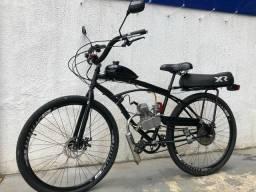 Título do anúncio: Bicicleta motorizada 80cc aro 29 NOVA