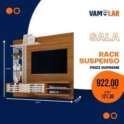 Título do anúncio: Bancada Suspensa Frizz Supreme TVs de até 55 Polegadas  (Entrega Rápida/Frete Grátis)