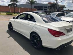 Mercedes-benz Cla-200 vision 1.6 turbo 16v, flex branco, 2016 - 2016