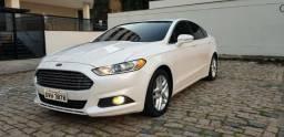 Ford Fusion SE 2.5 impecável, segundo dono, branco pérola, revisado, 6 mil abaixo da Fipe - 2013