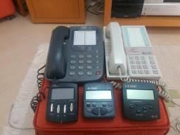 2 Aparelhos de tefone Fixo(Casio) 3 identificadores R$ 90
