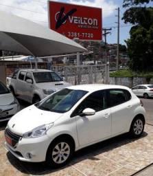 Peugeot 208 2015 1.5 Active Branco Unica Dona Emplacado - 2015