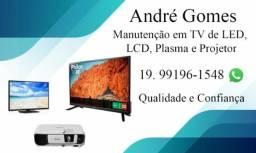 Conserto de Tvs, Monitores, Projetores, Microondas, ATENDO SOMENTE RIO CLARO