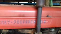 Trator massey fergusson 65 x ano 1975 c 4 marchas