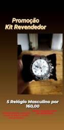 Kit revendedor Relógio