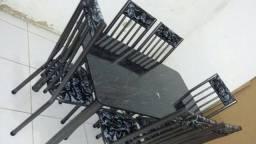 Mesas de 4 ou 6 lugares