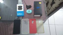Samsung galaxy s9 plus + fone XIAOMI Bluetooth airdots