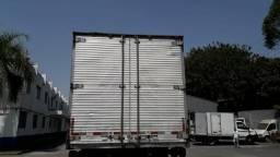 Troco baú de alumínio por saider .de caminhão toco