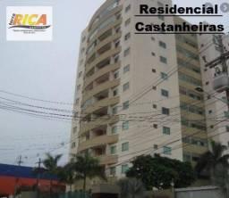 Apto Duplex com 3 quartos para Locação no Residencial Castanheiras - Porto Velho/RO