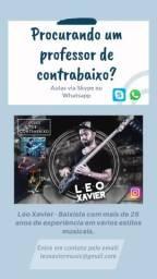Léo Xavier - Aulas de contrabaixo