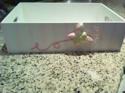 Caixa de lembrancinhas e para quarto de bebê