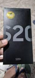 S20+ Completo e com Nota Fiscal com um Mês