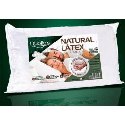 Travesseiro 100% Látex Natural King Size - 50 x 90 Lacrado Duoflex