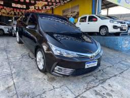 Corolla xei 2.0 automático 2018 - único dono