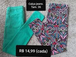 Calças jeans lindas