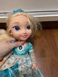 Boneca Elsa cantora original